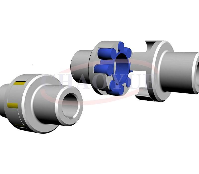 LM型梅花形弹性联轴器